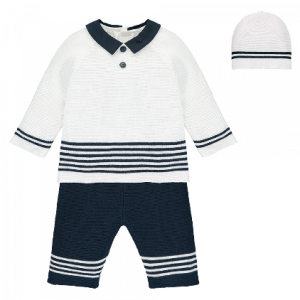 Emile et Rose Silas 3pce Knitted Outfit
