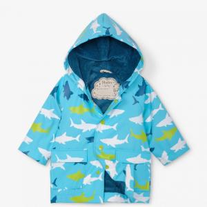 Hatley Great White Sharks Rain Jacket