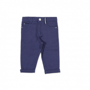 Navy Blue Soft Trouser