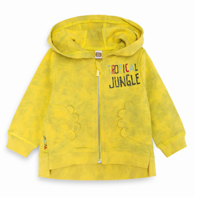 Tuc Tuc Tropical Jungle Hoodie Front