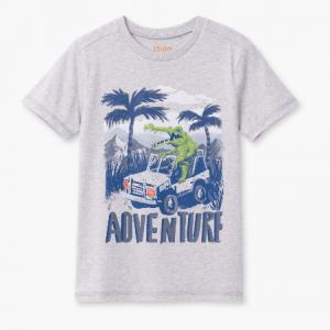 Hatley jungle tshirt with alligator