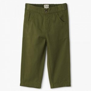 Jungle Green Baby Twill Pants