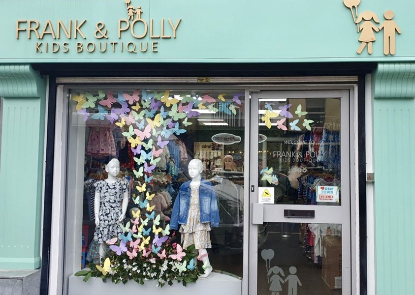 Frank & Polly Shop Front
