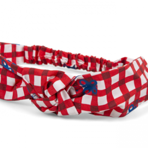 Agatha gingham hairband