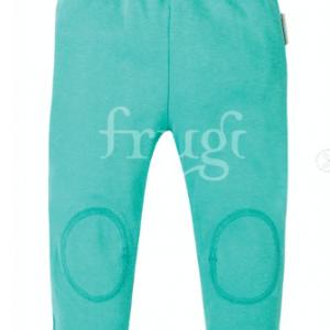 Frugi Blue Cuffed Leggings