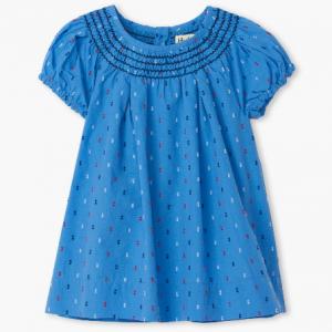 Hatley smock blue dress