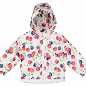 Mini Birba Cherry waterproof Jacket With hood