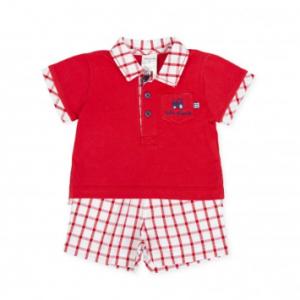 Tutto piccolo short and tshirt set