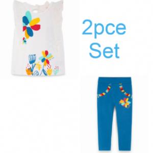 Tuc Tuc 2pce wild side legging set for girls