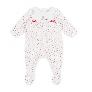 Tutto piccolo Babygrow. The perfect gift for a baby girl, presented in a gift box.