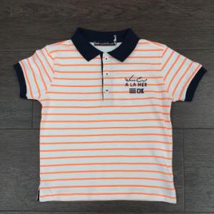 Weekend a la mer stripy polo shirt
