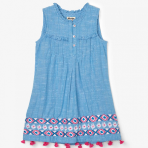 hatley chambray dress front