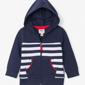 Hatley Nautical stripe hoodie