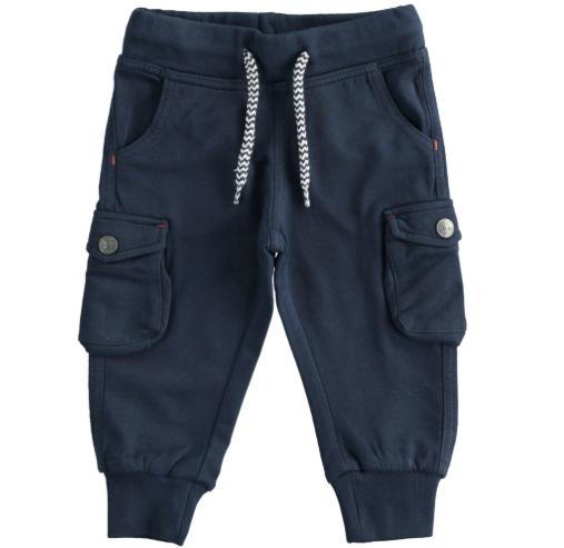 I Do navy cargo pants