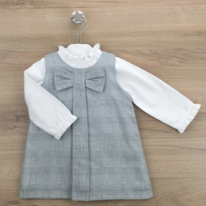 Babidu Pinafore and white blouse