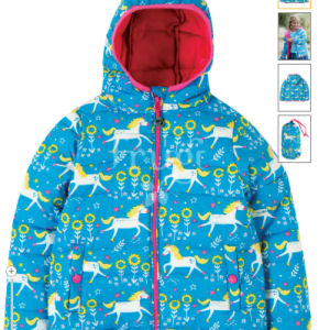 Frugi unicorn toasty trail jacket