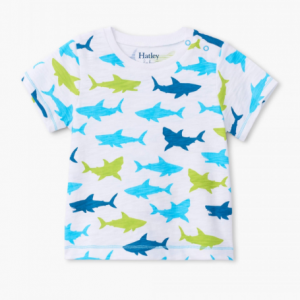 Hatley great white sharks t-shirt
