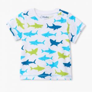 Hatley great white sharks t-shirt