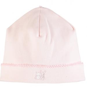 Emile et rose baby pink pull on hat
