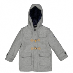 Boys Grey Woolen coat