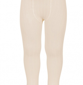 Condor basic ribbed tights linen