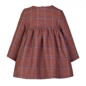 Eve children tweed ginger dress for girls