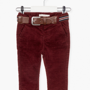 Losan baby boy trousers with a belt