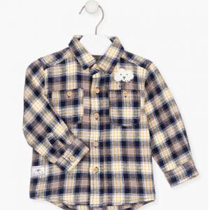 Losan check shirt for baby boy