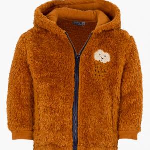 Losan fleese jacket for baby boy with hood