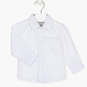 Losan white printed shirt