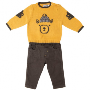 Babybol knitted jumper and soft trousers