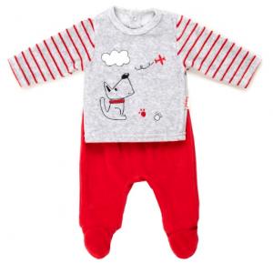 Babybol red trouser set