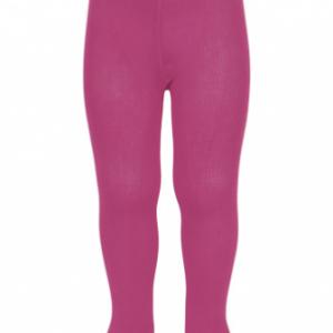Condor plain stitch basic tights pink