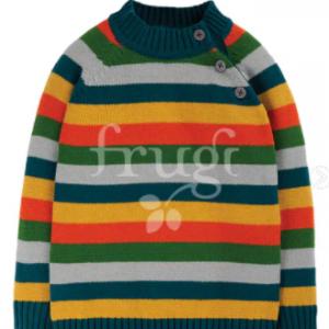 Frugi storm stripy jumper