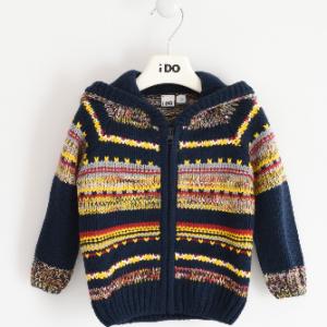 I Do Handmade effet winter zip jacket