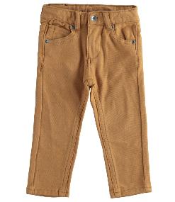 I do boys tan stretch trouser