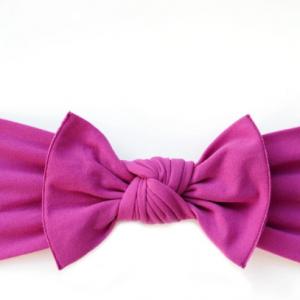 Little bow pip grape pippa bow