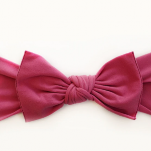 Little bow pip rose pink pippa bow