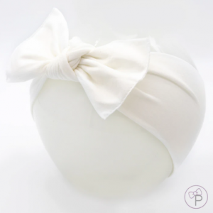 Little bow pip white bow