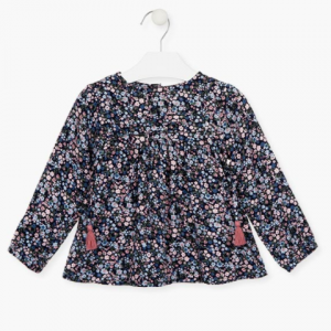 Losan all over floral blouse for girl