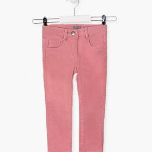 Losan pink corduroy for girls