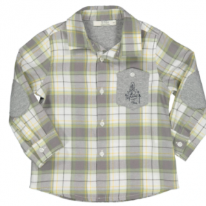 Birba check cotton shirt