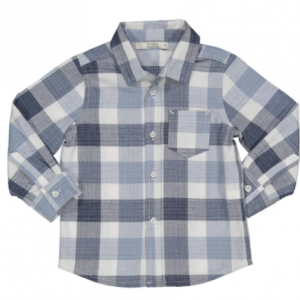 Birba check shirt blue