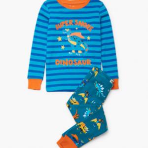 Hatley superhero sinos organic cotton applique pyjamas