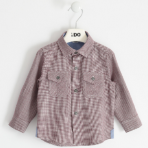 I do 100% cotton houndstooth shirt