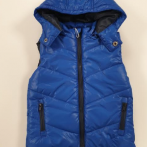Losan body vest with detachable hood Blue