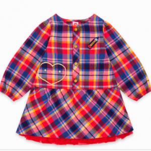 Tuc tuc cloth fabric dress for girls