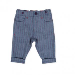 Tutto piccolo pin stripe trousers