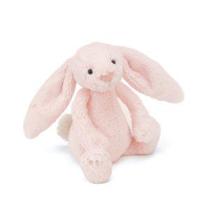 Jellycat bashful pink buny rattle