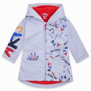 Tuc tuc raincoat with zipper and hood